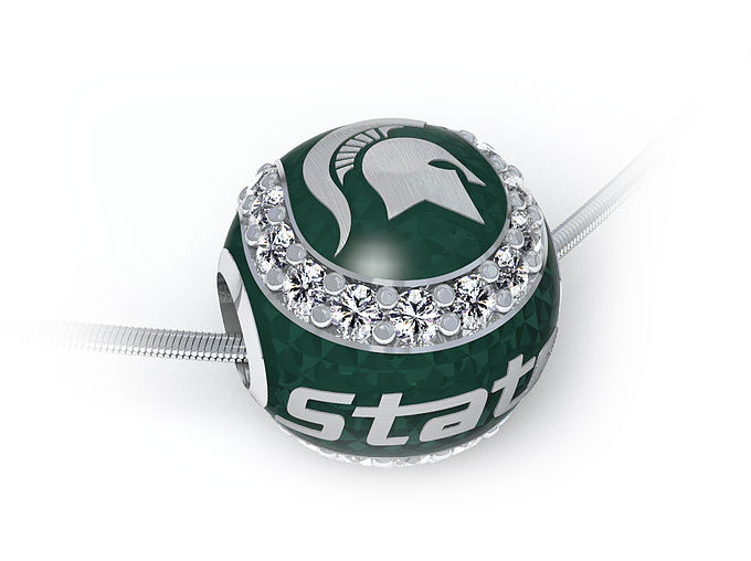 Michigan State Jewelry