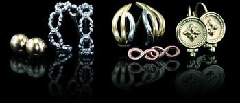 Metal Fashion Earrings