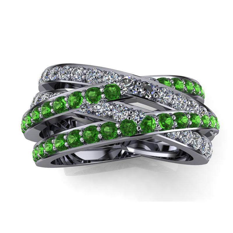Custom Green and White