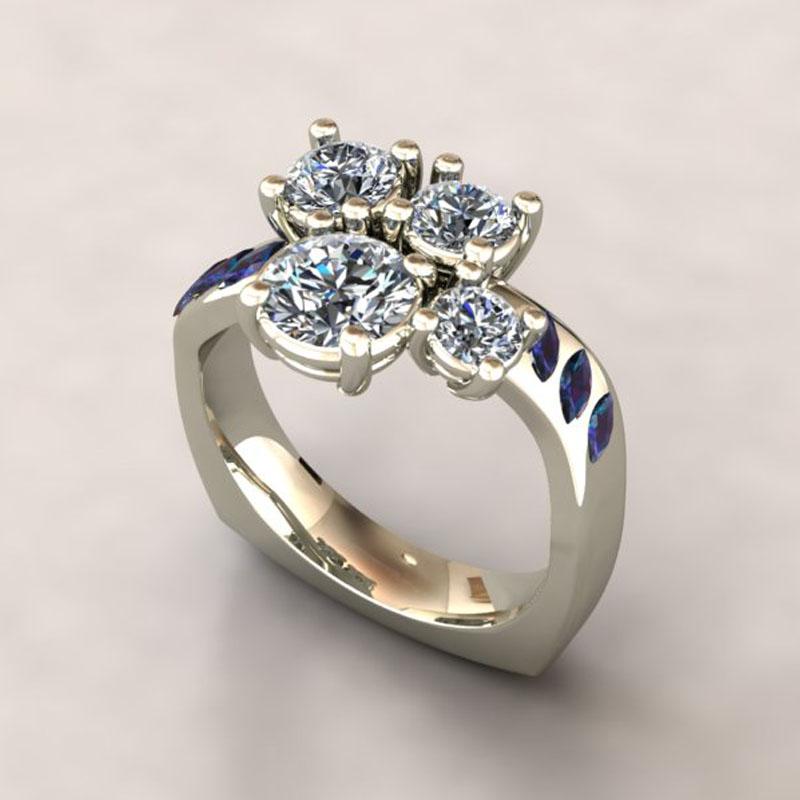 Custom Ring using Customers stones