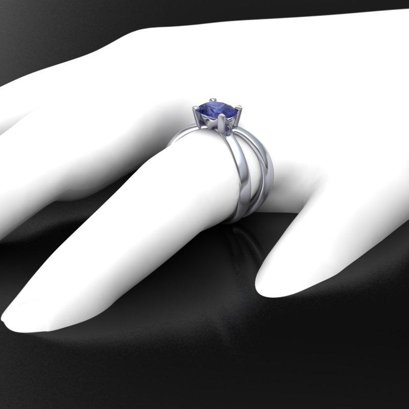 Fish Tail Custom Ring 1
