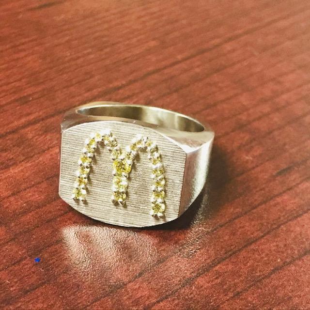 Custom McDonald's Ring