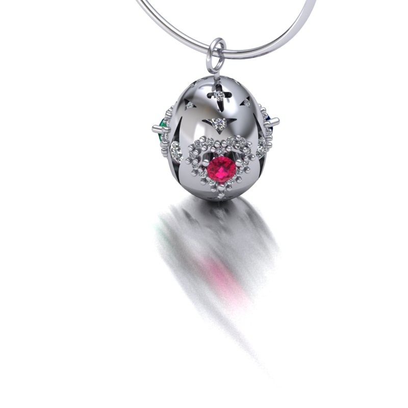 Faberge Inspired Pendant(view2)